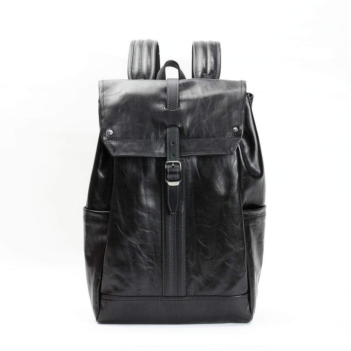 7c5f6b89c63a [アートフィアー] リュック 豊岡鞄 本革 アンビションライン メンズ レディース B013OBH51S ブラック(