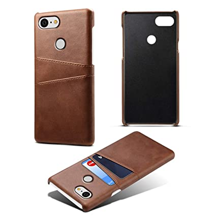 sports shoes a3d3b 28ae1 Amazon.com: TORUBIA Google Pixel 3 Case Cover Protection, PU Leather ...