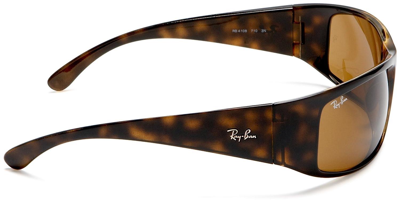 2405b3d2dee094 ... spain ray ban mens 4108 sport sunglassesgold mirror frame brown mirror  polar lens65 mm amazon clothing
