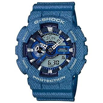 d76b1a2749b Amazon.com  Casio G-Shock GA110DC-2A Mens Denim Watch  Watches
