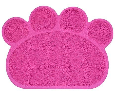 yunt mascota perro gato cachorro Dish Tazón Alimentos Agua mantel individual PVC Mat Cama Mat estilo