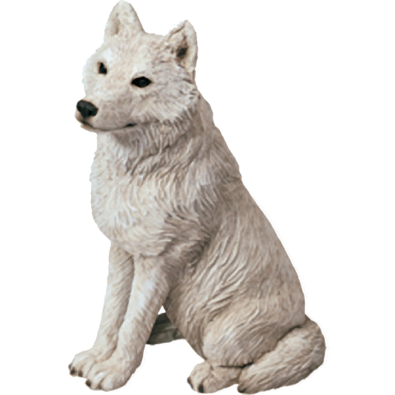 Awesome Amazon.com: Sandicast Mid Size Gray Arctic Wolf Sculpture, Sitting: Home U0026  Kitchen