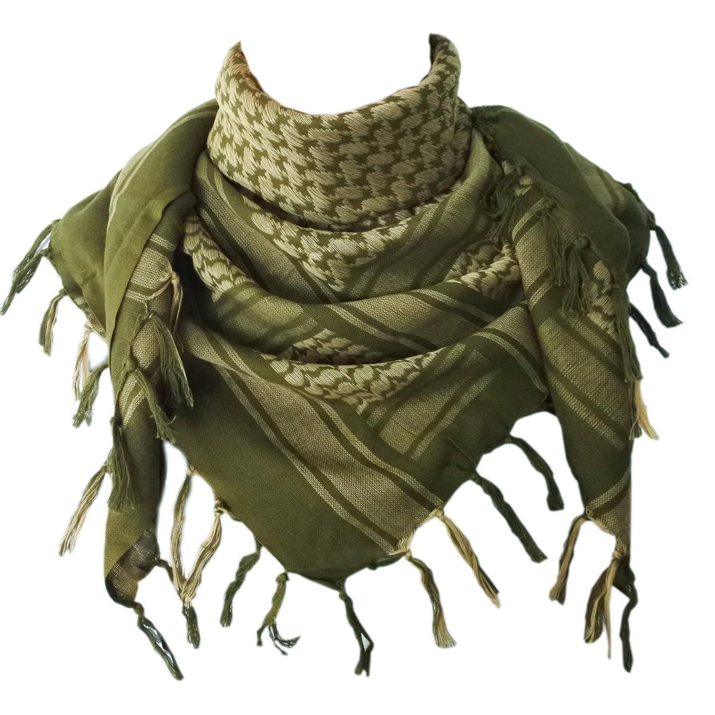 Details about Explore Land 100% Cotton Shemagh Tactical Desert Scarf Wrap 31f145e89e8