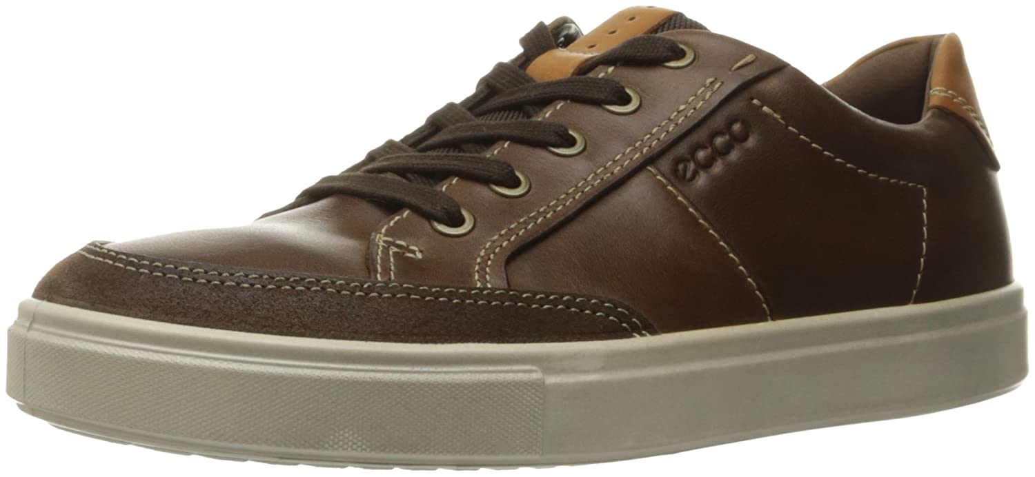 - ECCO shoes Men's Kyle Sneaker Lace up shoes, Cocoa Brown, 42 EU 8-8.5 M US