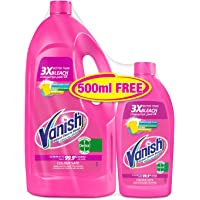 Vanish Laundry Stain Remover Liquid For Colors and Whites Clothes, 1.8 Liter with 500 ml - Pack of 1