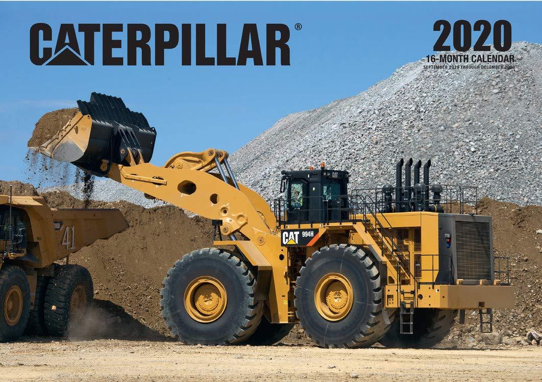 Caterpillar 2020  16 Month Calendar   September 2020 Through December 2020  Calendars 2020