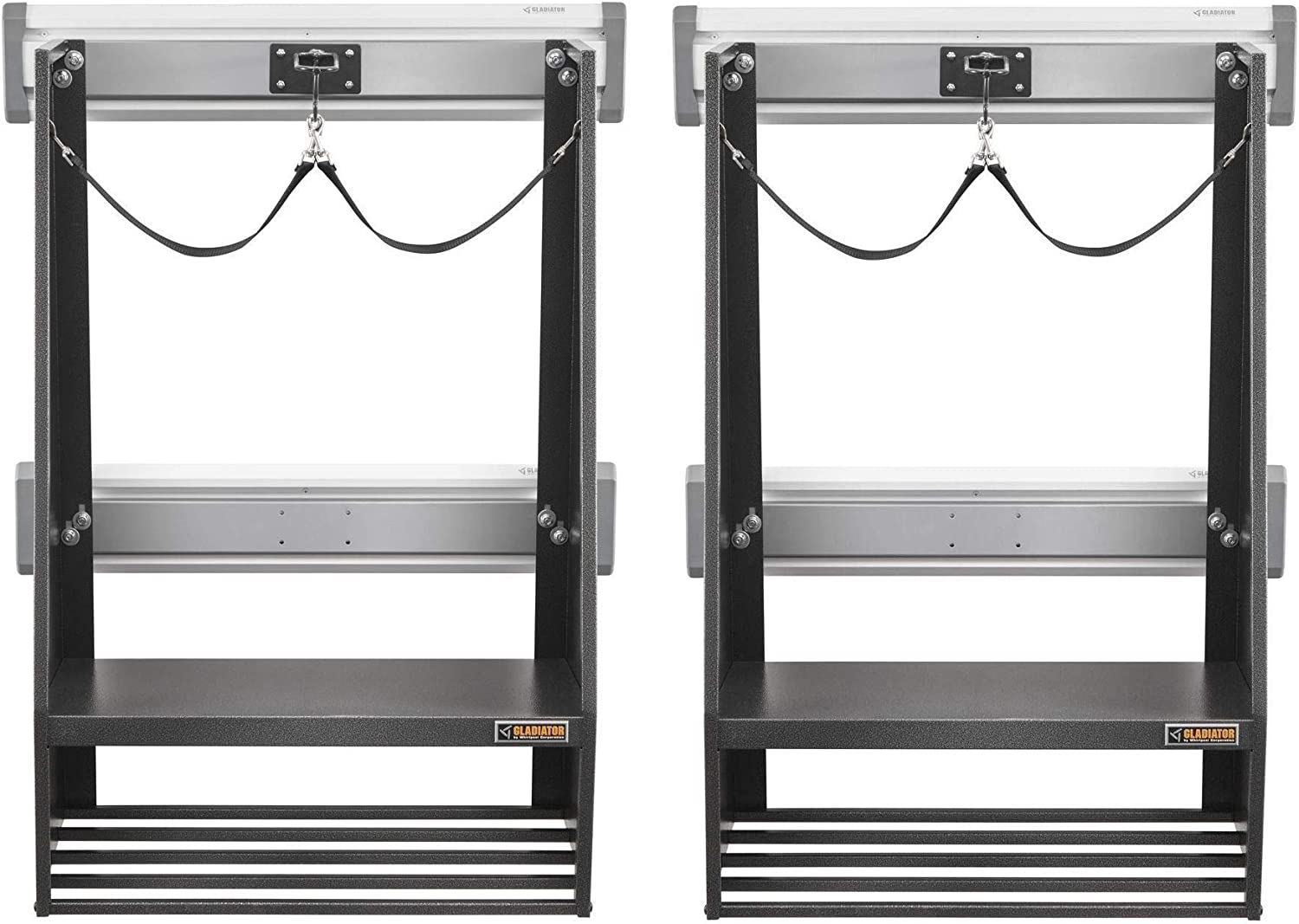 Gladiator Gakt32gfgg Golf Geartrack Pack Gray Pack Of 2 Amazon Co Uk Kitchen Home
