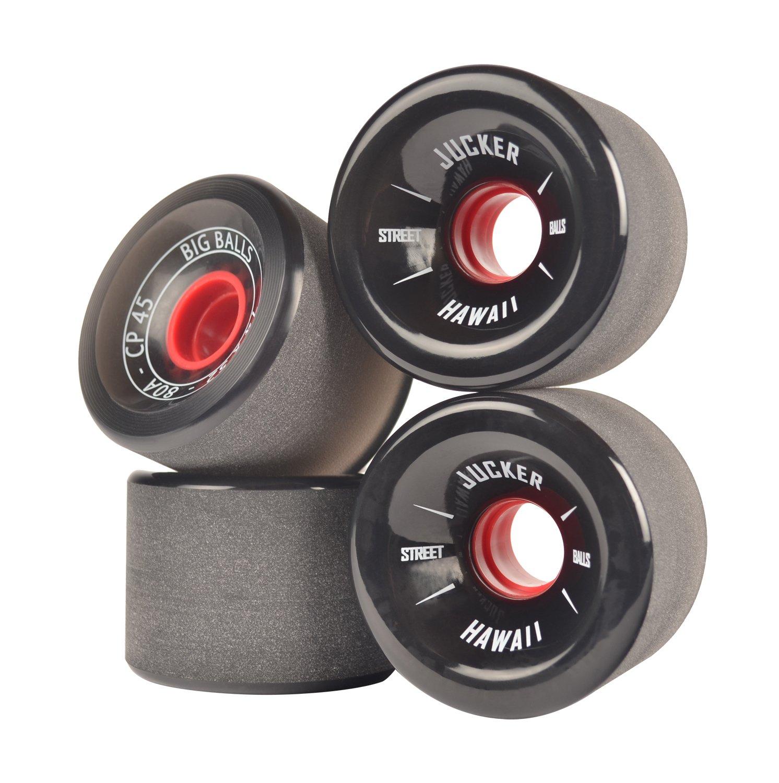 JUCKER HAWAII Ruedas para Longboard / Skateboard / Mini Cruiser Slide Wheels MINI BALLS 60mm 80A Negro: Amazon.es: Deportes y aire libre