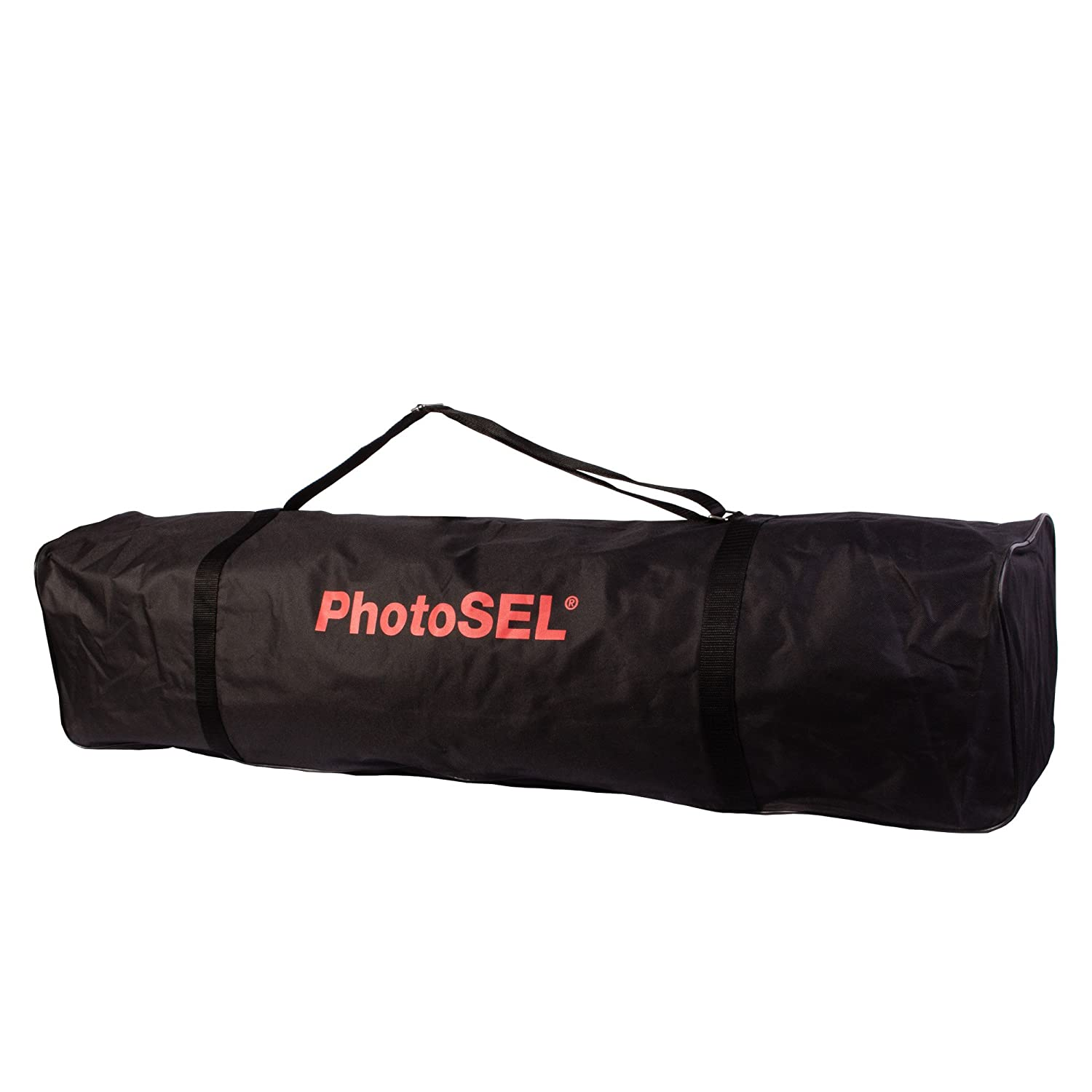 PhotoSEL Light Stand Carry Bag, 45.3 x 8.3 x 11 inches, Heavy Duty Canvas, Tripod, Studio Background Support, Umbrella, BG3115