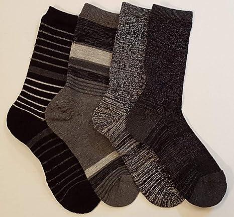 4ee894681 Amazon.com   Kirkland Signature Ladies  Trail Socks Extra Fine Merino Wool  (Black)