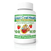 Children's Oral Probiotics ~ Dentist Formulated 30 Lozenge Bottle ~ Seven Strains...