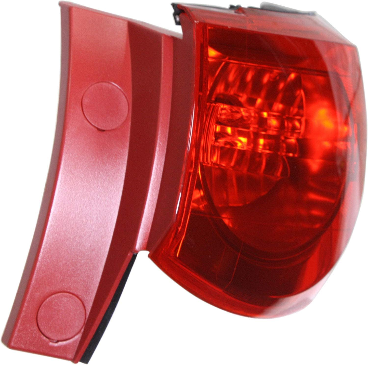 Tail Light Assembly Compatible with 2009-2012 Chevrolet Traverse Outer Red Lens Passenger Side