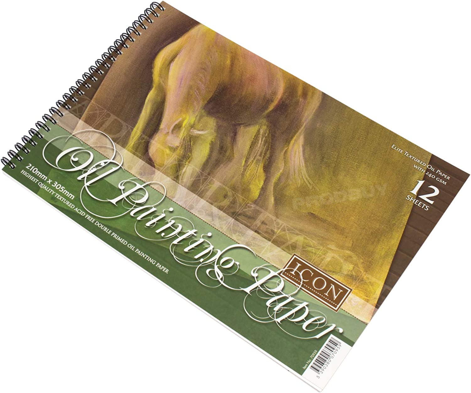 Landscape A4 Oil Painting Pad 240gsm 12 Sheets