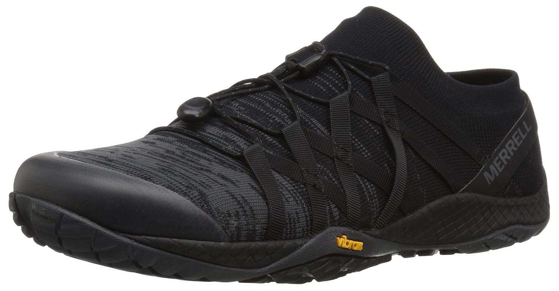 Merrell Men's Trail Glove 4 Knit Sneaker B078N6WPR9 12 D(M) US Black