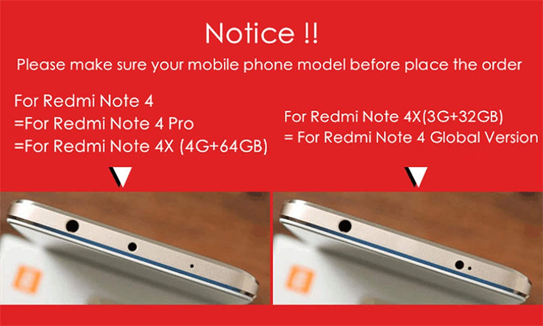 Amazon.com: Funda completa 360 para Xiaomi Redmi Note 5 5A 4 ...