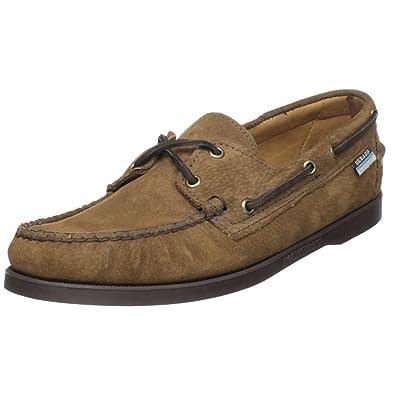 9c90b13dc9c71f Sebago Docksides, Chaussures de Voile pour Homme Marron Dark Brown Suede 41  EU