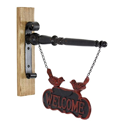 Aspire Home Accents 5667 - Cartel de bienvenida (hierro y ...