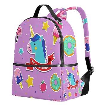 Amazon.com | School Backpack Cute Sweet Unicorn