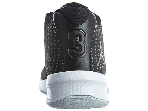 d67daaf5d3392b Jordan Mens B.Fly Round Toe Lace-Up Basketball Shoes 881444-011 best ...