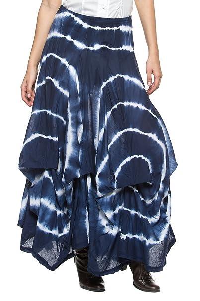 yijimen Victoriano de la mujer Boho Gypsy Reunidos Pick Up Full bullicio enaguas falda larga