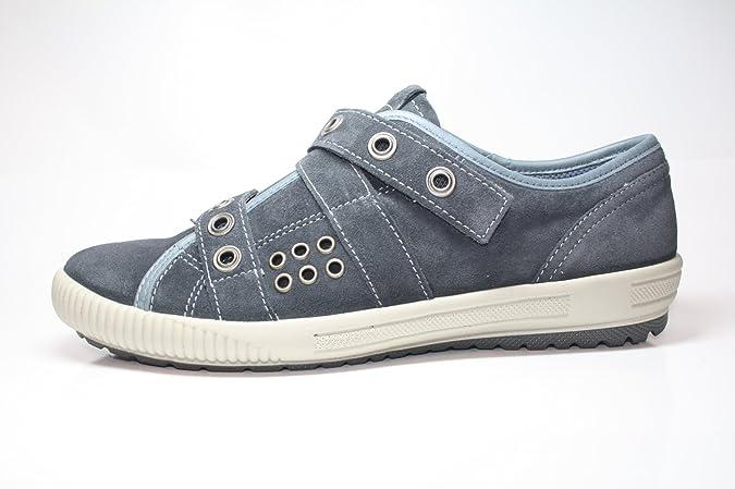 Legero Damenschuhe 8 00824 86 Damen Halbschuhe, Blau (jeansblau 86), EU 40.5 (UK 7), Weite G