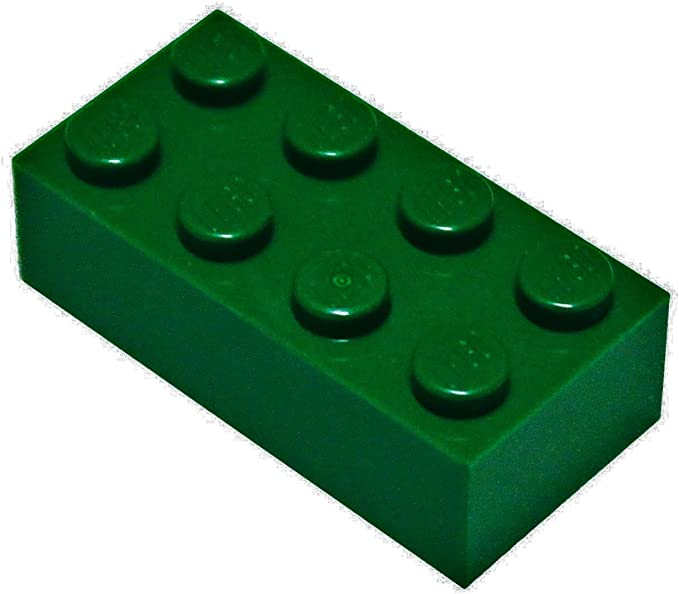 LEGO Reddish Brown Brick 2x10 5 to 50 Pieces