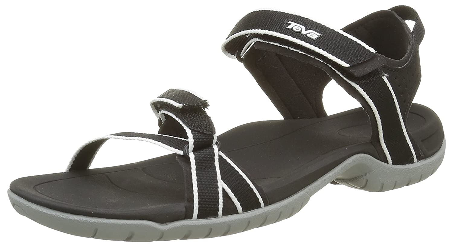Black Grey Teva Women's Verra Sandal
