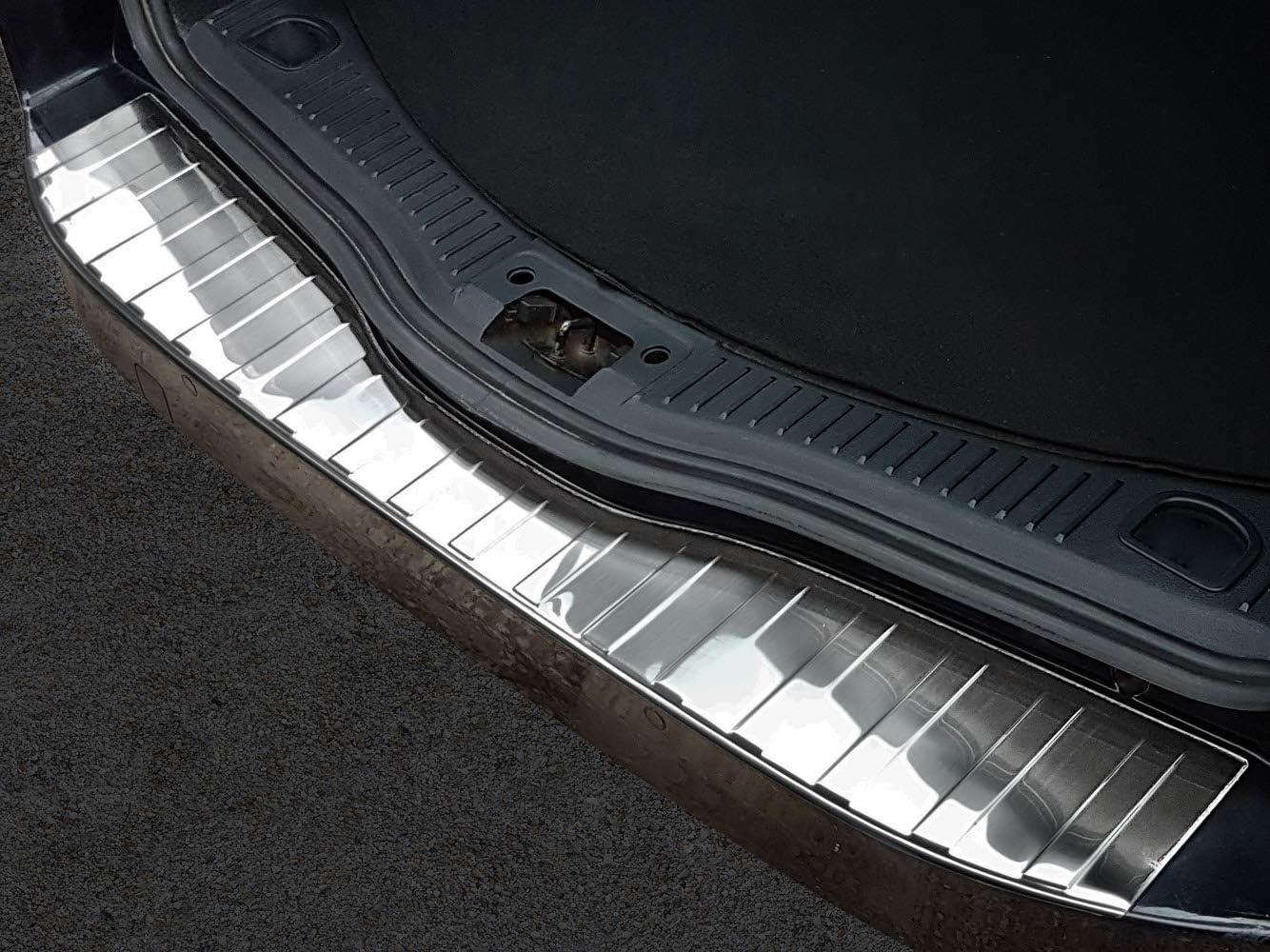 Avisa Ladekantenschutz Fahrzeugspezifische Passform Sto/ßstangenschutz aus V2A Edelstahl