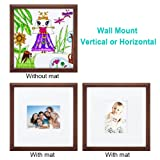 12x12 inch Picture Frame Made of Solid Wood and