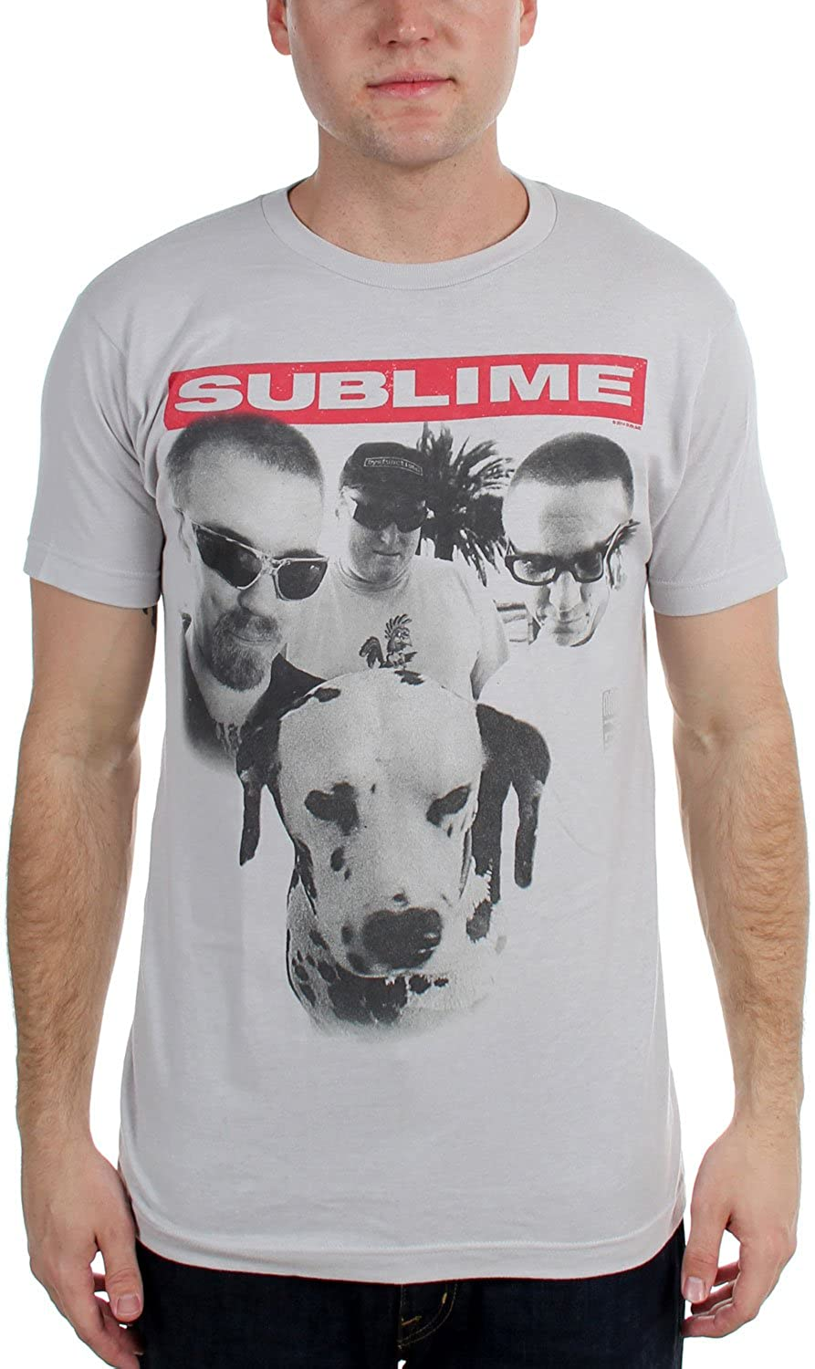 Sublime - Mens Group Photo W/Dog Soft T-Shirt