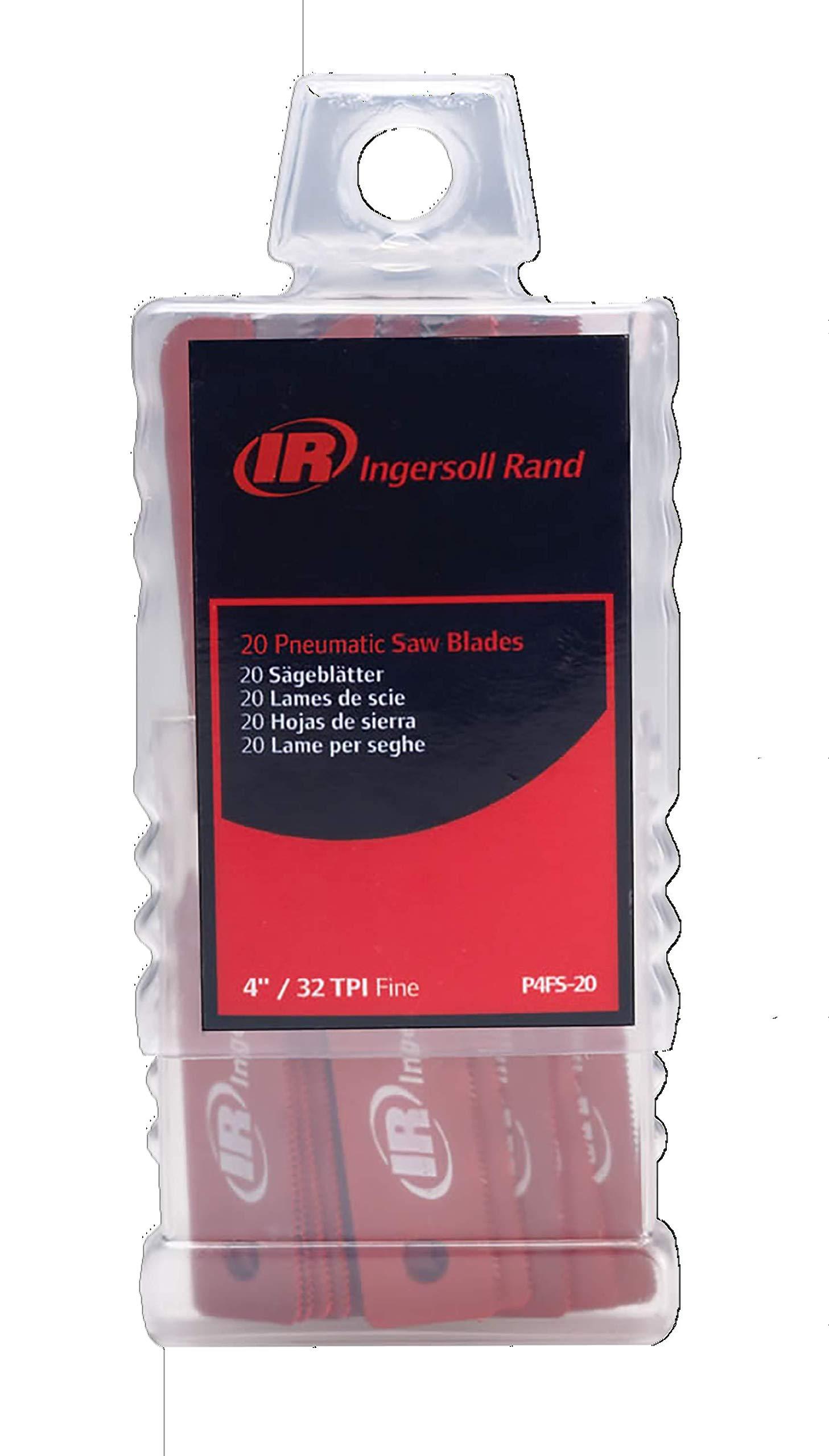 Ingersoll Rand P4FS-20 Air Reciprocating Saw Blades for all standard shank air reciprocating saws by Ingersoll Rand