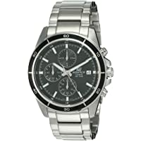Casio Edifice Mens Quartz Watch, Chronograph Display and Stainless Steel Strap EFR-526D-1AUDF