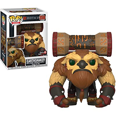 EarthShaker (GameStop Exc): Funk o Pop! Games Vinyl Figure & 1 Compatible Graphic Protector Bundle (358 - 30631 - B): Toys & Games