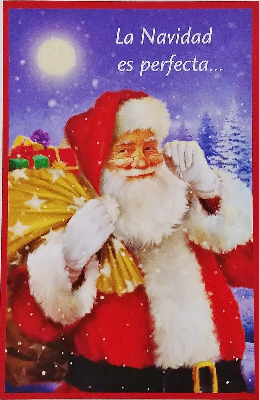 Christmas Wishes In Spanish.Amazon Com La Navidad Es Perfecta Como Los Lindos Momentos