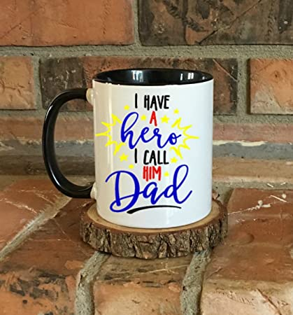 Dad Hero Mug Fathers Day Gift Birthday Present Daddy Daughter