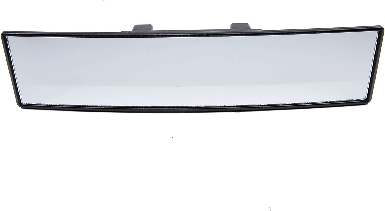 Trixes Extra Großer Gekrümmter Clip On Panorama Rückspiegel Für S Auto 300mm Innenspiegel Toter Winkel Fahrschüler Auto