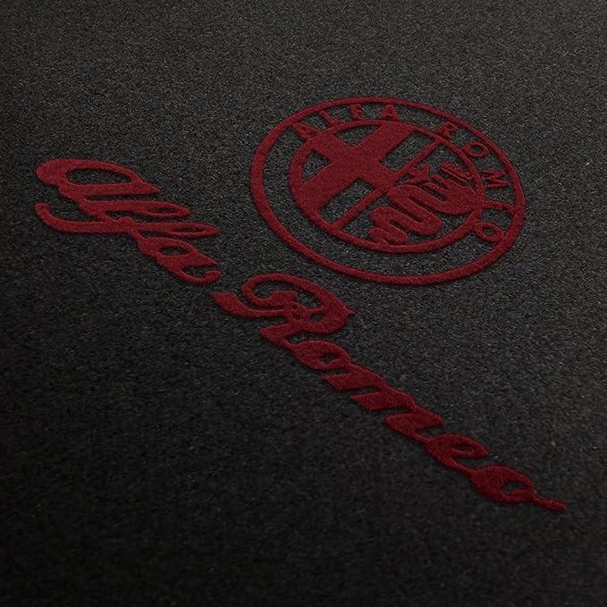 Fußmatten Aus Nadelfilz Mit Druck Logo Schrift Q100 Alfa L S 309 Alfa 014 Auto