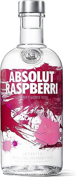 Absolut Raspberri Vodka 700 Ml Amazon Es Alimentacion Y Bebidas