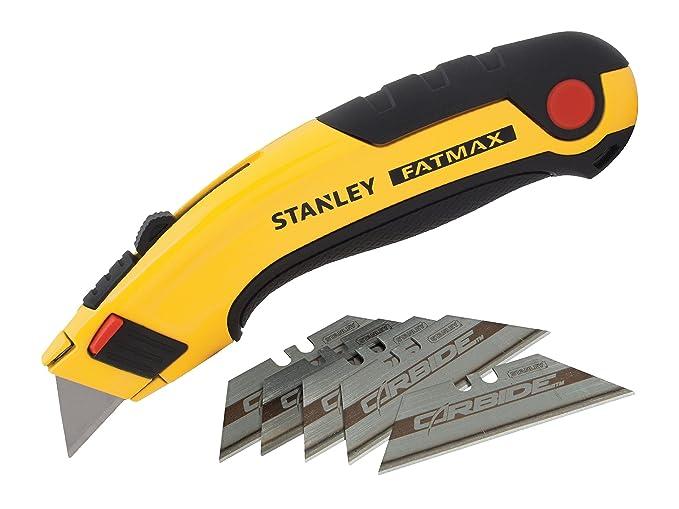 Stanley Professioneller Glasschaber 0-28-500 robuster Halter aus rostfreiem Edelstahl, fixierbare Klinge, 1 St/ück