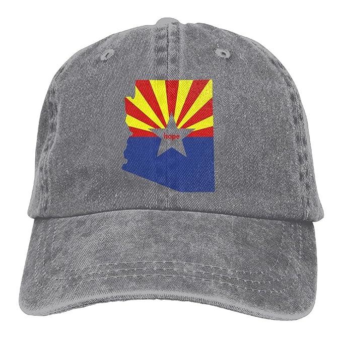 e454a1ec4b2fc Amazon.com  Arsmt Arizona Hope Denim Hat Adjustable Unisex Funny ...