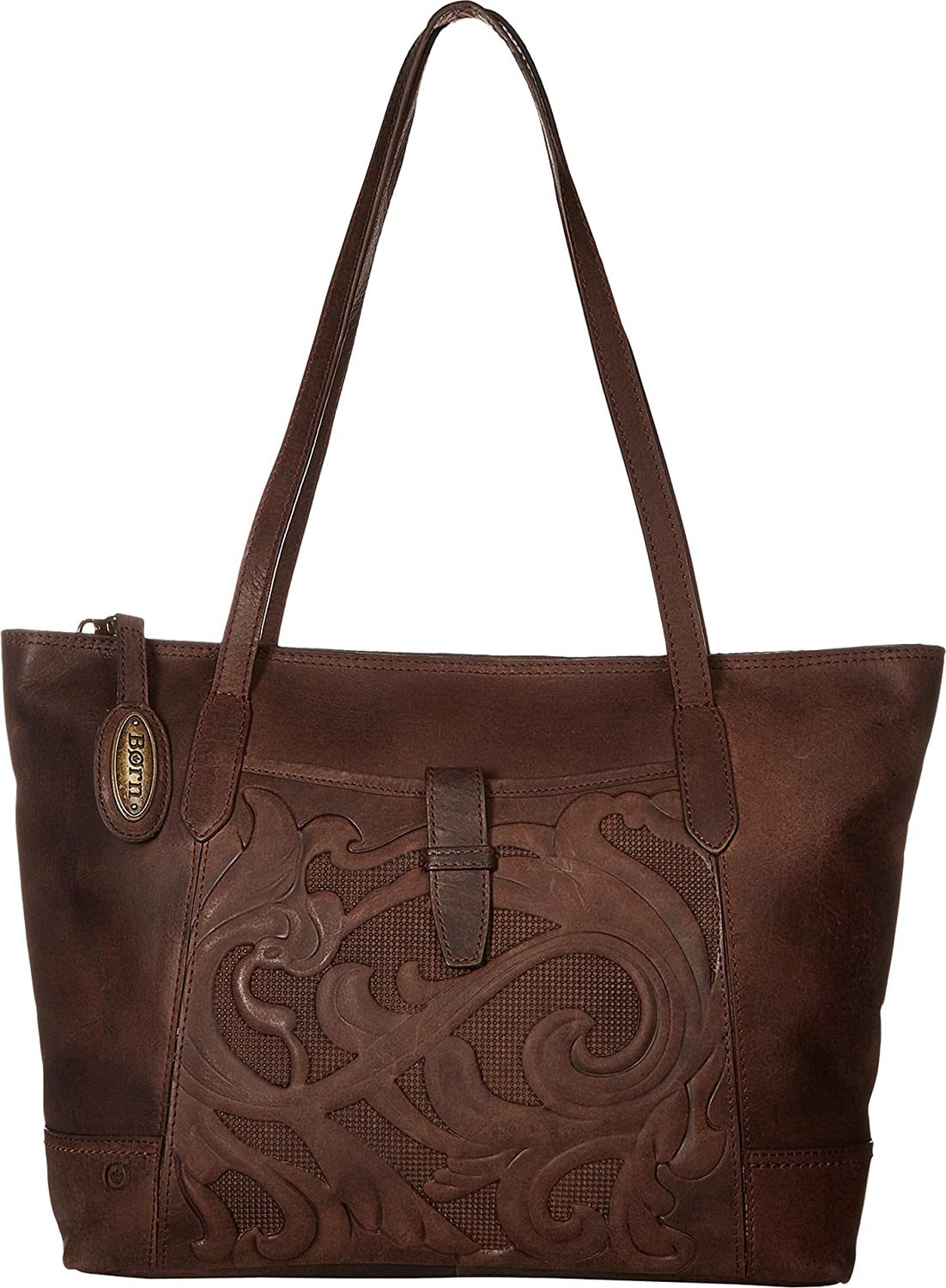 Born Womens Gordon Tote Chocolate One Size