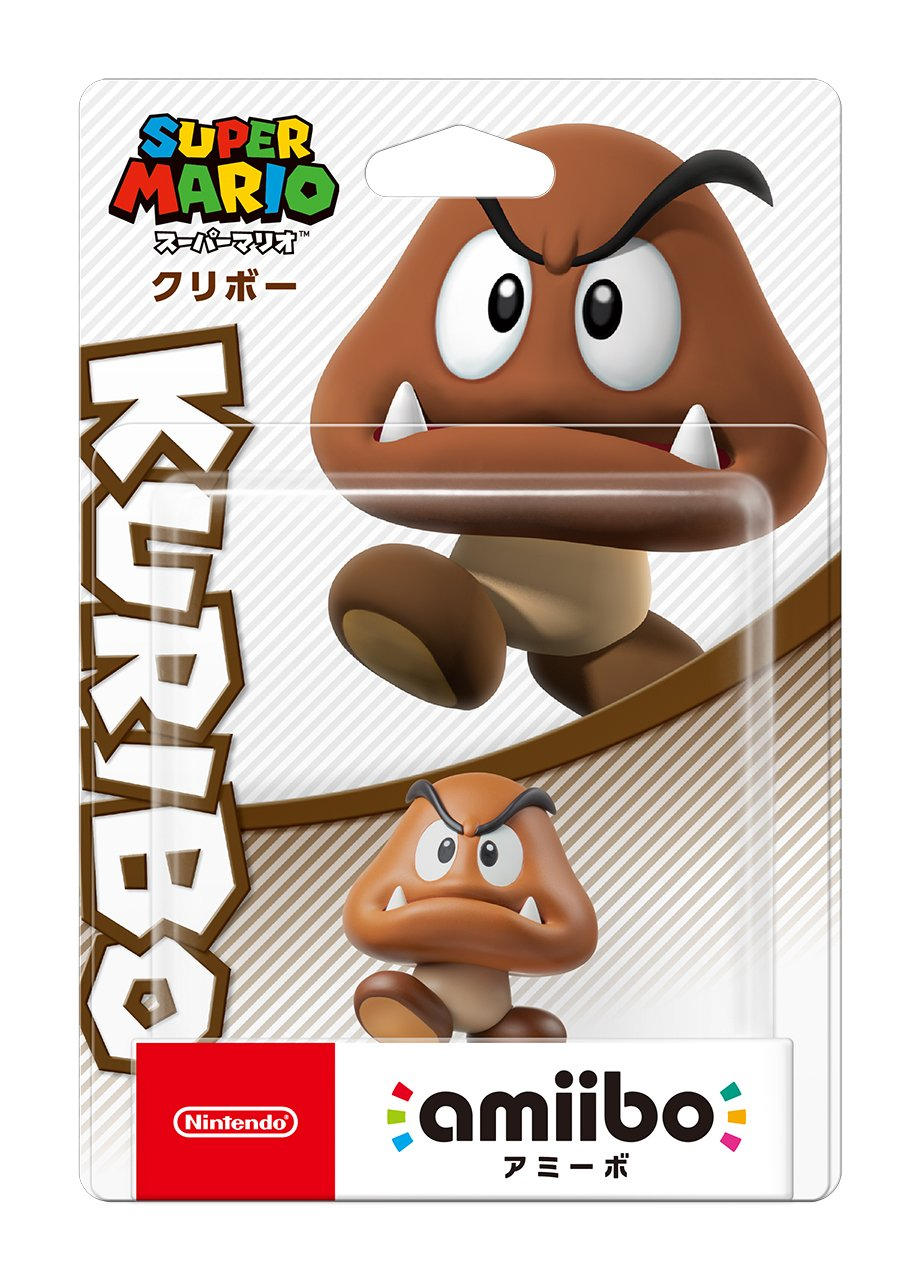 Amazon Com Amiibo Goomba Super Mario Series Japan Import Video Games