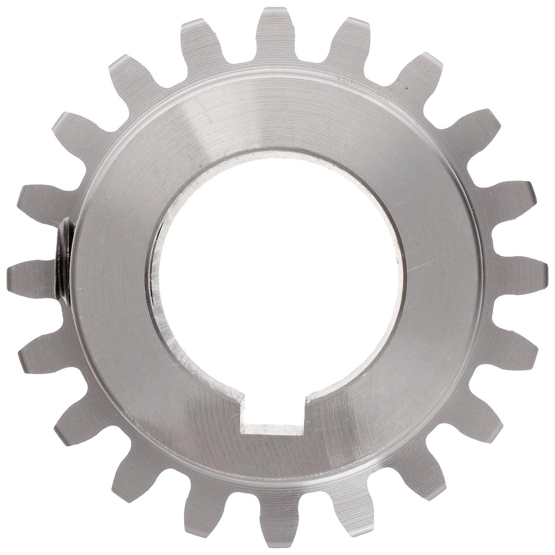 Boston Gear NF20B Spur Gear 1.000 Face Width 2.200 OD 10 Pitch 14.5 Pressure Angle Steel 0.750 Bore 20 Teeth Inch