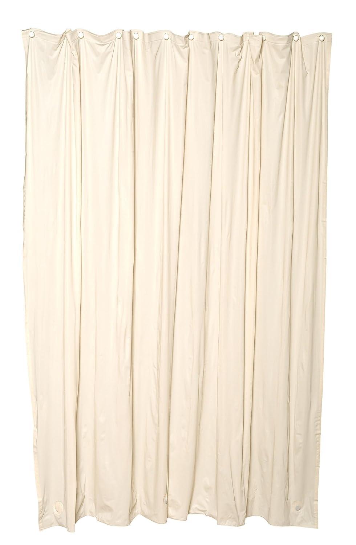 Zenna Home H28F Medium Weight Vinyl Shower Liner Cashmere