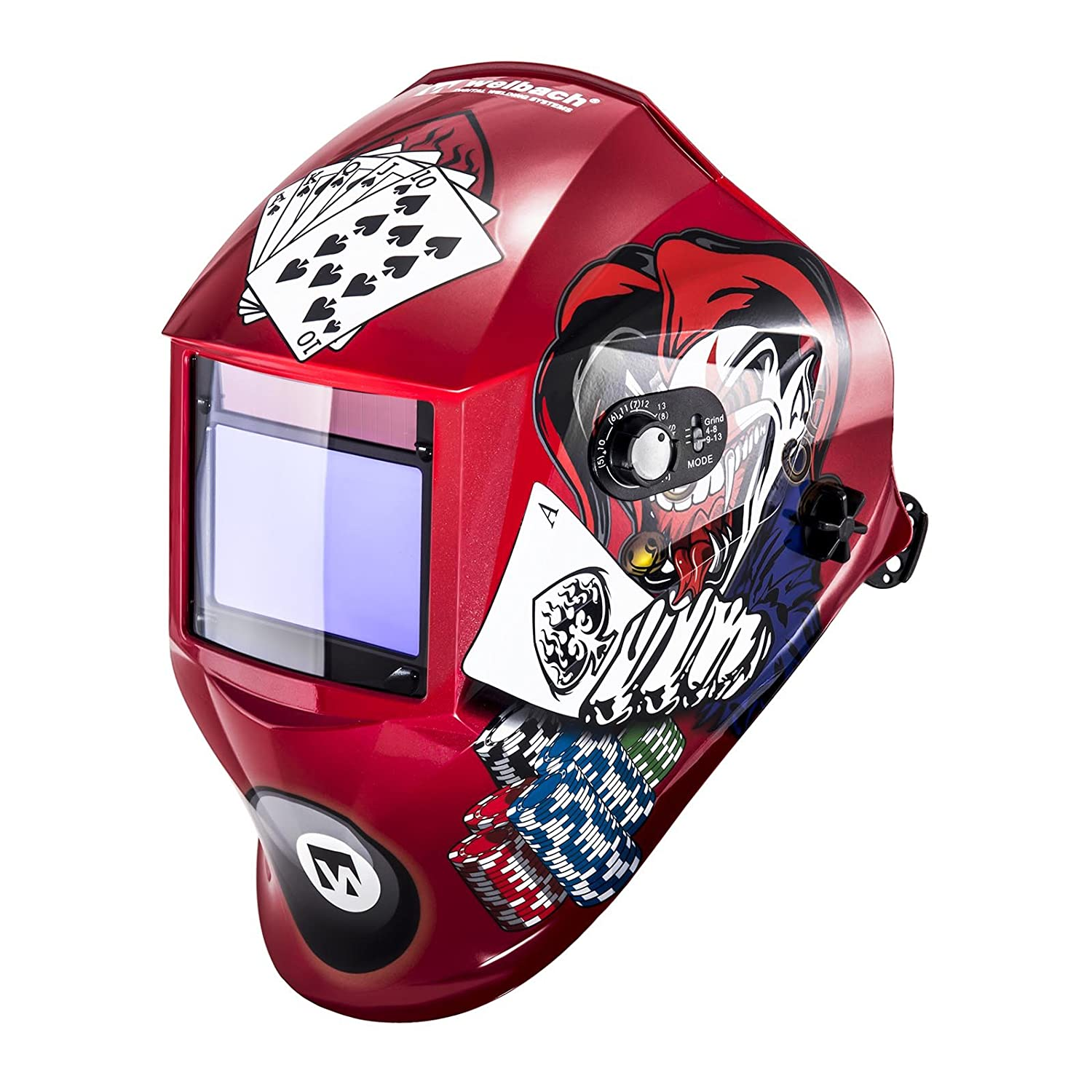 PROFESSIONAL SERIES Stamos Germany Pokerface Pokerface Welding helmet