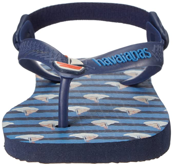 035179d02 Havaianas Baby Boat Sandal Flip Flop with Backstrap (Toddler)