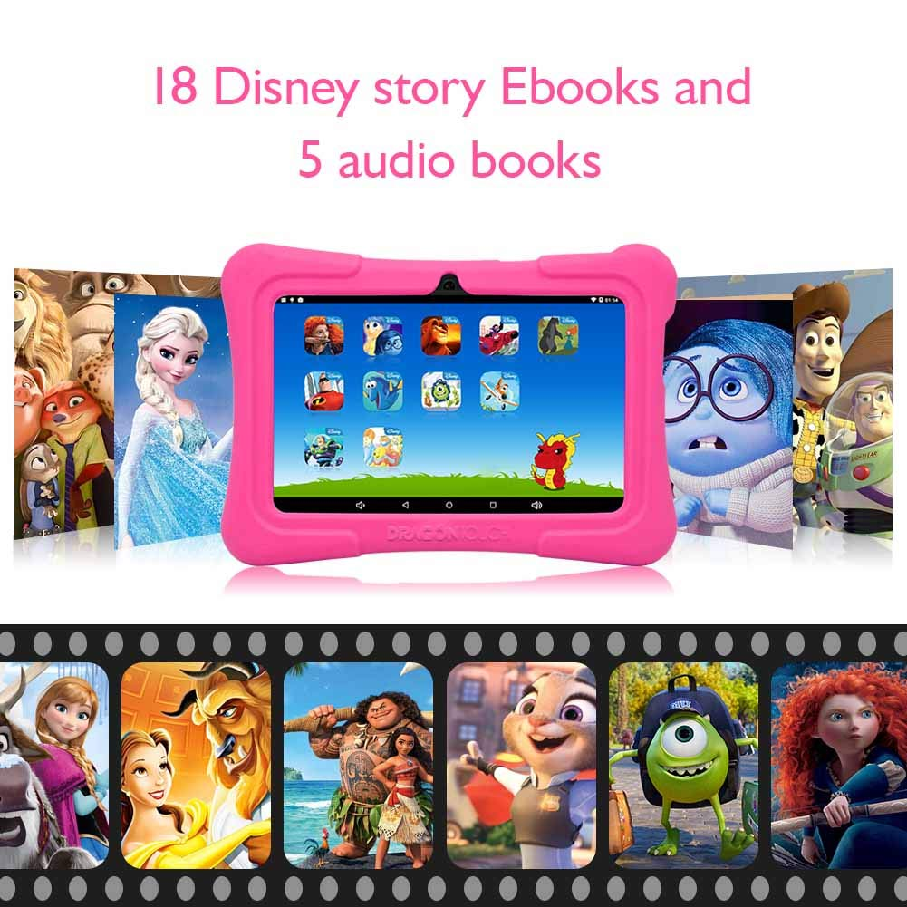 Dragon Touch Y88X Plus Tablet for Kids 16 GB 2019 Edition 7 inch HD IPS Display WiFi Android Tablet