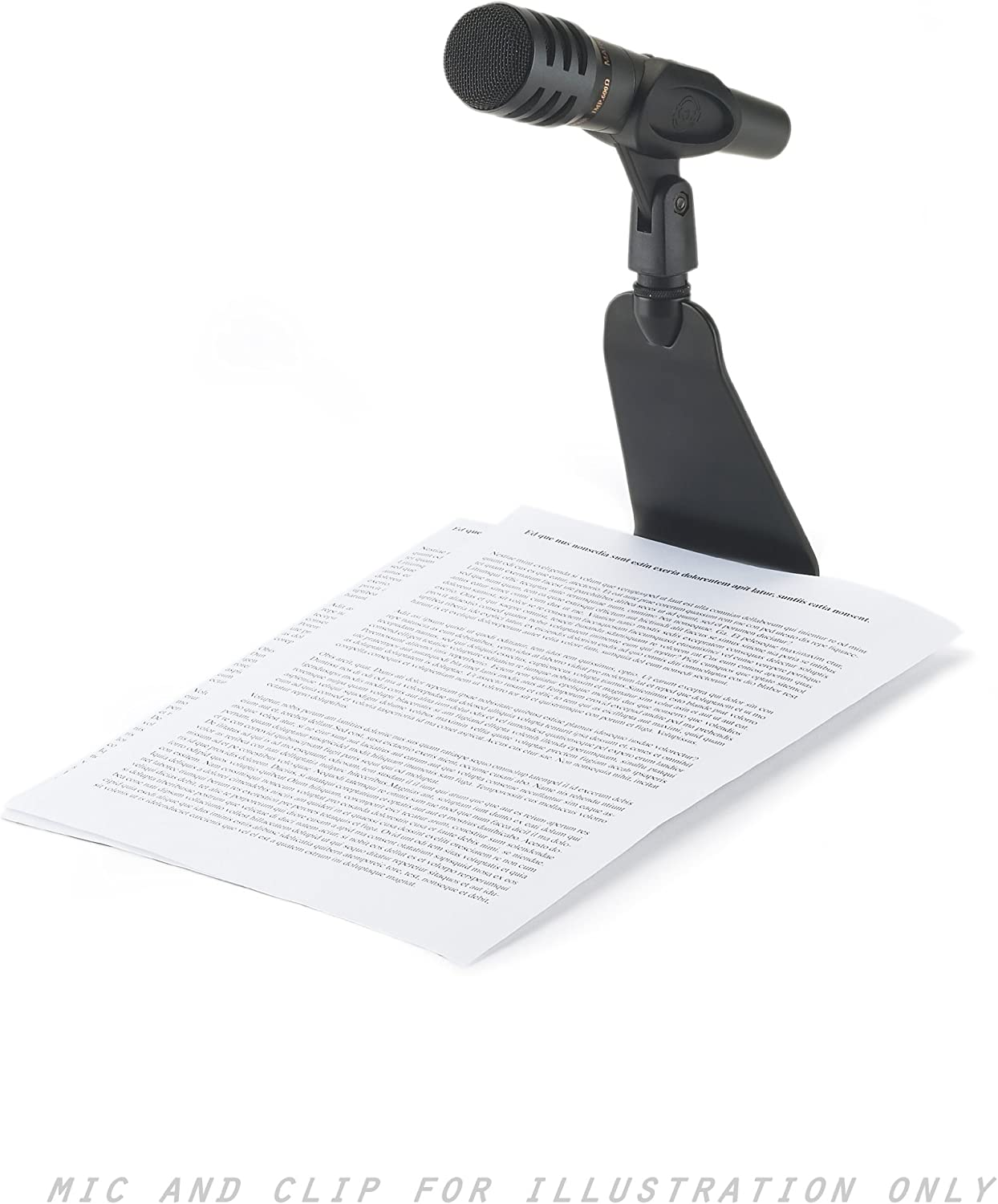Black Konig /& Meyer 23105-300-55 Table Microphone Stand with 3//8 inch Thread