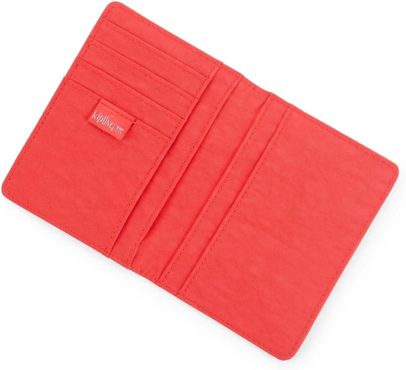 Happy Red Mix Rouge Rouge Etui pour passeport - Kipling PASS PORT