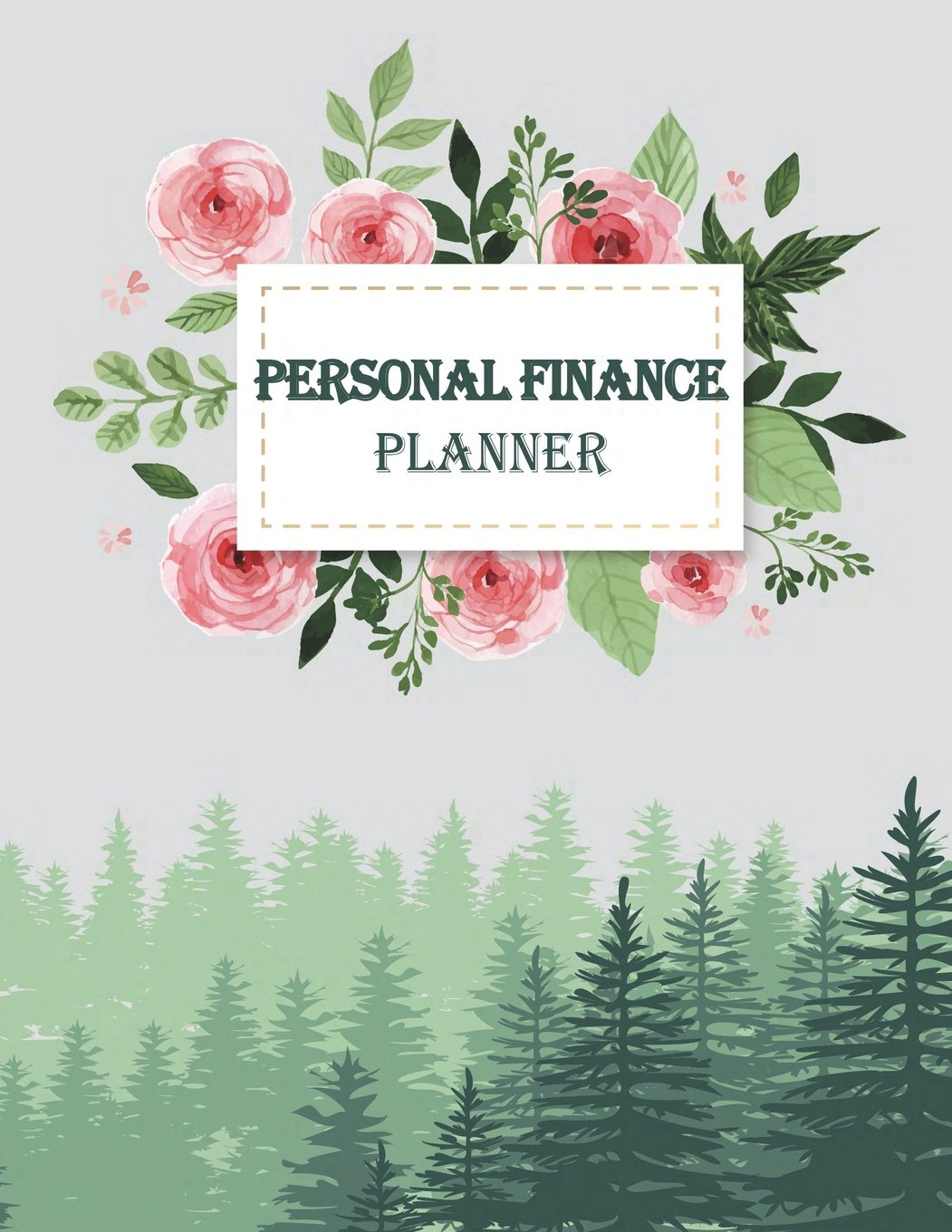 amazon com personal finance planner monthly money planner budget